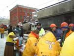 Дианетика и Саентология: Добровольные священники на месте трагедии